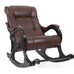 Кресло-качалка Мебель Импэкс МИ Модель 77 венге, обивка Antik crocodile кресло качалка мебель импэкс ми модель 77 венге обивка verona brown