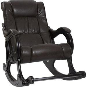 Кресло-качалка Мебель Импэкс МИ Модель 77 венге, обивка Vegas lite amber цена