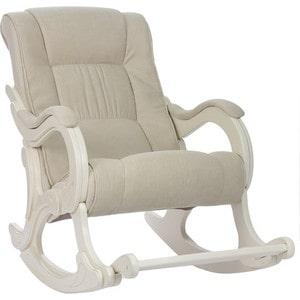 Кресло-качалка Мебель Импэкс МИ Модель 77 дуб шампань, обивка Verona Vanilla