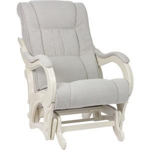 Кресло-качалка Мебель Импэкс МИ Модель 78 дуб шампань, обивка Verona Light Grey цена
