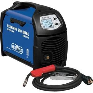 Инверторный сварочный полуавтомат BlueWeld Starmig 210 Dual Synergic (816399) blueweld omegatronic 400ce