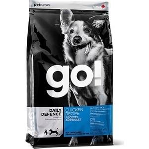 Купить Сухой корм GO! Dog DAILY DEFENCE Chicken Recipe с цельной курицей, фруктами и овощами для щенков и собак 5, 45кг (10086)