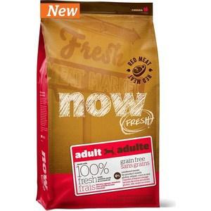 Сухой корм NOW FRESH Dog Adult Grain Free Lamb, Venison & Pork беззерновой с ягненком, олениной и свининой для собак 11,35кг (10334) фото