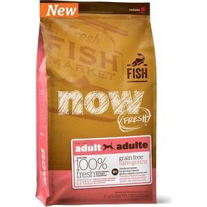 Сухой корм NOW FRESH Dog Adult Grain Free Trout, Salmon & Herring беззерновой с форелью,лососем и сельдью для собак чувствительным ЖКТ 2,72кг (336)