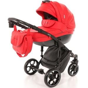 Коляска 2 в 1 Mr Sandman Mod 100% Эко кожа Красный KMSM100-073207 коляска 2 в 1 mr sandman mod 50% эко кожа бордовый 21