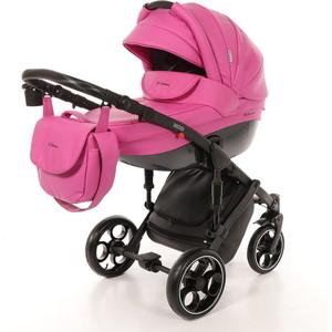 Коляска 2 в 1 Mr Sandman Mod 100% Эко кожа Розовый KMSM100-073213 коляска 2 в 1 mr sandman mod 50% эко кожа бордовый 21