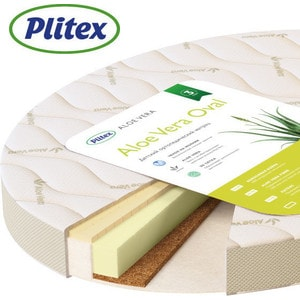 Матрас детский Plitex Aloe Vera Oval 1250х650х100 мм (MPAVO-0723AB-18/3)