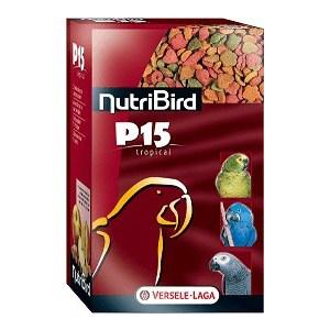 Корм VERSELE-LAGA NutriBird P15 Tropical гранулированный для крупных попугаев 1кг