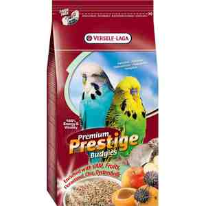 Корм VERSELE-LAGA Prestige Premium Budgies для волнистых попугаев 20кг