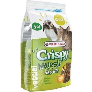 Корм VERSELE-LAGA Crispy Muesli Rabbits для кроликов 2,75кг versele laga versele laga корм для морских свинок crispy muesli guinea pigs с витамином с