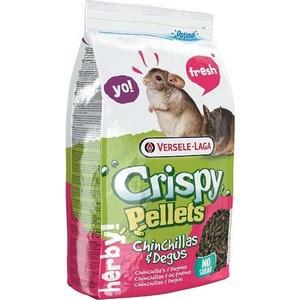 Корм VERSELE-LAGA Crispy Pellets Chinchillas & Degus гранулированный для шиншилл и дегу 25кг