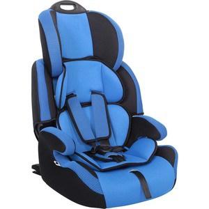 Автокресло Siger Стар ISOFIX синий, 1-12 лет, 9-36 кг, группа 1/2/3 автокресло группа 1 2 3 9 36 кг siger стар blue