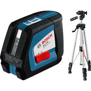 Построитель плоскостей Bosch GLL 2-50 + BS 150 (0.601.063.105) цены