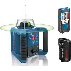 Нивелир лазерный ротационный Bosch GRL 300 HVG Set (0.601.061.701) цены онлайн