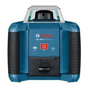 Нивелир лазерный ротационный Bosch GRL 400 H (0.601.061.800) ротационный нивелир ada instruments rotary 500 h servo a00338
