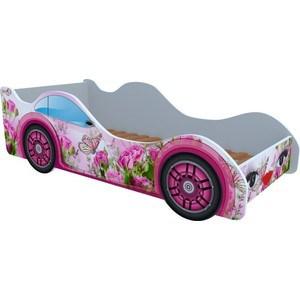 Кровать Кроватки машинки Бабочка в розах чемякина в машинки
