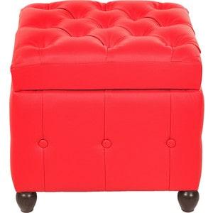 Пуф Мебельстория Брага-1 красный банкетка сундук мебельстория брага 3 т