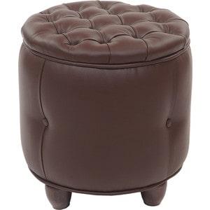 Пуф Мебельстория Вена-1 коричневый