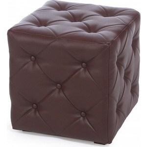 Пуф Мебельстория Ромби-1 коричневый