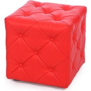 Пуф Мебельстория Ромби-1 красный