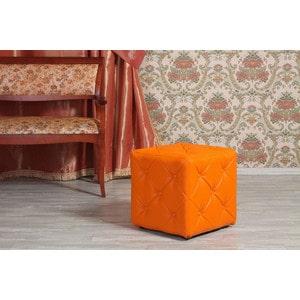 Пуф Мебельстория Ромби-1 оранжевый цена