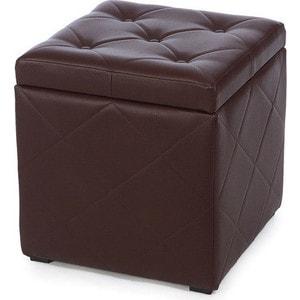 Пуф Мебельстория Ромби-2 коричневый