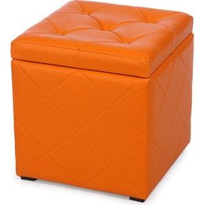 Пуф Мебельстория Ромби-2 оранжевый
