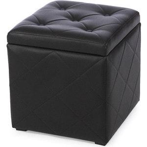 Пуф Мебельстория Ромби-2 черный