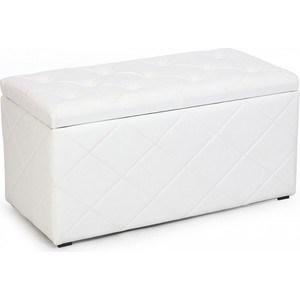 Пуф Мебельстория Ромби-3 белый