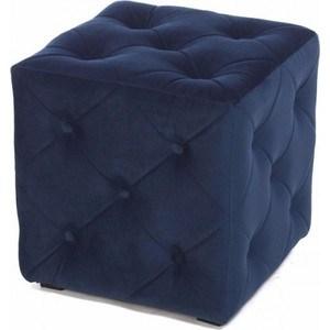 Пуф Мебельстория Ромби-1Т велюр синий