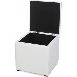 Пуф Мебельстория Тони-2 белый