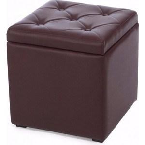 Пуф Мебельстория Тони-2 коричневый
