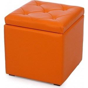 Пуф Мебельстория Тони-2 оранжевый