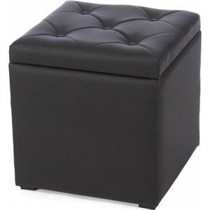 Пуф Мебельстория Тони-2 черный