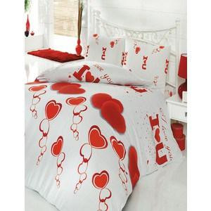 Комплект постельного белья Cotton Life 1,5 сп, Love You (6053)