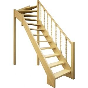 Лестница деревянная ЛЕСЕНКА ЛЕС-715 универсальная (ЛЕС-715-У)