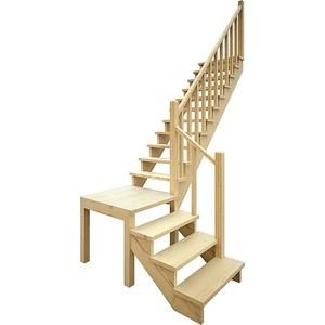Лестница деревянная ЛЕСЕНКА ЛЕС-08 универсальная (ЛЕС-08-У)
