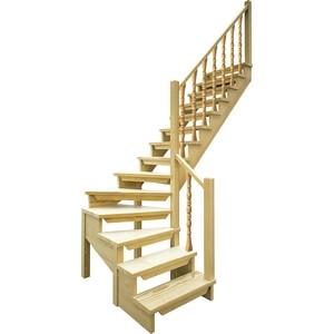 Лестница деревянная ЛЕСЕНКА ЛЕС-09 универсальная (ЛЕС-09-У) лестница деревянная лесенка лес 10 универсальная лес 10 у