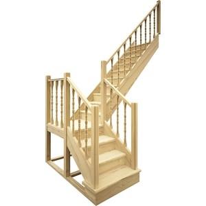 Лестница деревянная ЛЕСЕНКА ЛЕС-04 универсальная (ЛЕС-04-У)