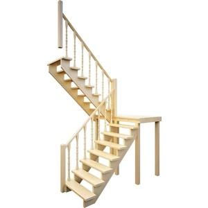 Лестница деревянная ЛЕСЕНКА ЛЕС-62 универсальная (ЛЕС-62-У)
