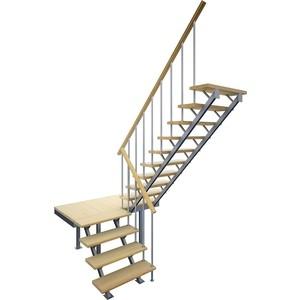 Лестница на металлокаркасе ЛЕСЕНКА ЛЕС-06 универсальная (ЛЕС-06)