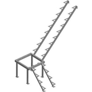 лучшая цена Металлокаркас ЛЕСЕНКА ЛЕС-05 H-2970 мм. (ЛЕС-05-3-К) (ЛЕС-05-3-К)