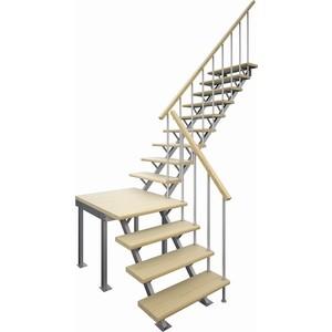 лучшая цена Лестница на металлокаркасе ЛЕСЕНКА ЛЕС-05-3 универсальная h-2970 мм. (ЛЕС-05-3)