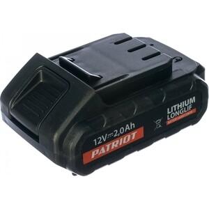Аккумулятор PATRIOT для BR 101/111Li серии The One 12V (180201100) аккумулятор patriot 12v 1 5 ah bb gsr ni 190200100