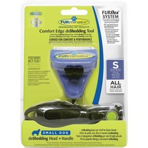 Фурминатор FURminator FURflex deShedding Tool S Comfort Edge Small Dog All Hair против линьки для собак мелких пород с любой длиной шерсти