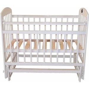 Кроватка Briciola 14 маятник поперечный, без ящика, белая BR1401 кроватка briciola 9 маятник продольный автостенка белая br0901