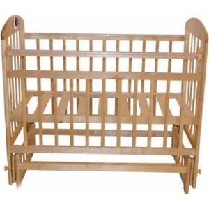 Кроватка Briciola 14 маятник поперечный, без ящика, светлая BR1405 кроватка briciola 10 маятник продольный с ящиком авт светлая br1005
