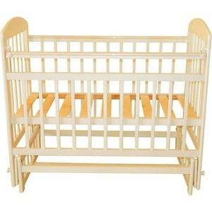 Кроватка Briciola 14 маятник поперечный, без ящика, слоновая кость BR1411 кроватка valle bunny 04 маятник поперечный без ящика слоновая кость