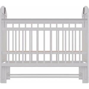 Кроватка Briciola 9 маятник продольный, автостенка, белая BR0901 кроватка briciola 9 маятник продольный автостенка белая br0901