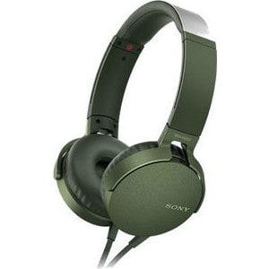 Наушники Sony MDR-XB550AP green цена и фото